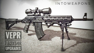 Custom VEPR 7.62x54r:  Review Of AK Upgrades