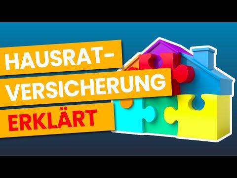 Hausratversicherung - EINFACH Erklärt!