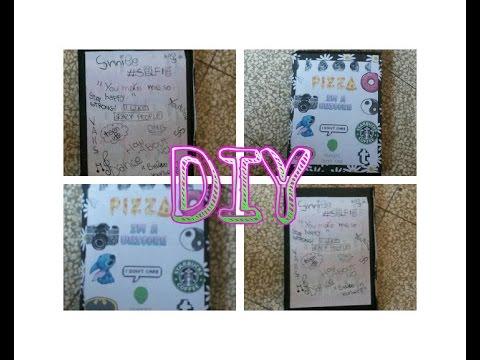 Diy diario scolastico tumblr inspired sofia youtube - Decorazioni tumblr ...