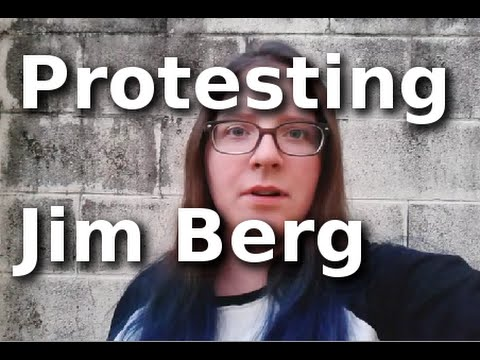 Protesting Jim Berg and Bob Jones University - One Year Later