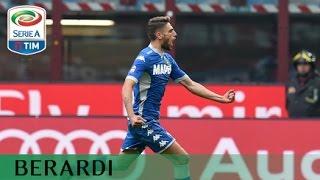 Il gol di Berardi - Milan - Sassuolo - 2-1 - Giornata 9 - Serie A TIM 2015/16
