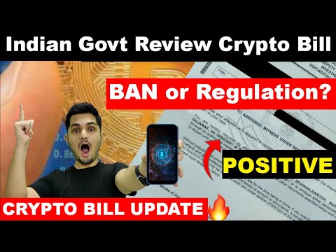 🔴URGENT Crypto Ban Bill Latest News Updates 🔥 Indian Government 💯 Ban or Regulation?