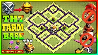 NEW BEST! TH7 Base 2020 | TH7 Base with COPY LINK - Clash of Clans