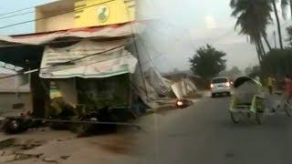 Video Situasi Gempa 7,7 SR Mengguncang Donggala, Kendaraan dan Rumah Roboh