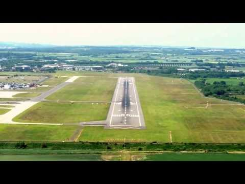 LANDING AT EDINBURGH AIRPORT