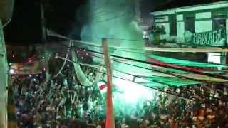 Palmeiras MV - Hino do Centenário na sede. 26/08/2014