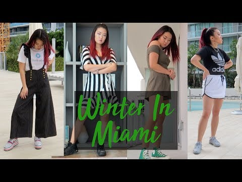 4 Outfits | Winter In Miami