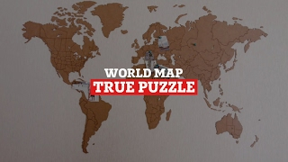 World Map True Puzzle BASE version