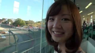 ミスFLASH準グランプリ2007の谷麻紗美が競輪初体験! 谷麻紗美 動画 4