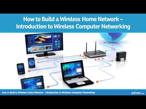 How to Build a Wireless Home Network - Introduction to Wireless Computer Networking