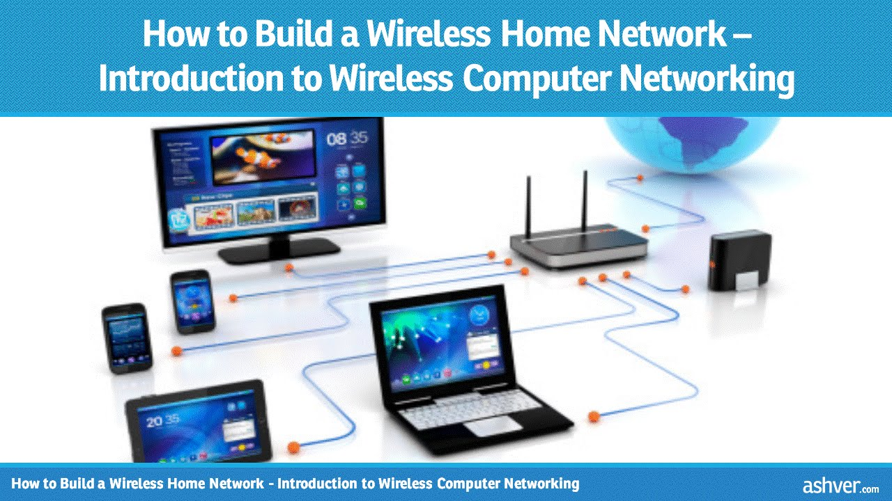 How To Build A Wireless Home Network Introduction To Wireless