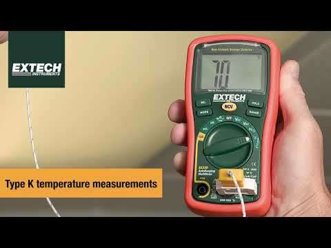 Introducing the Extech EX330: Mini MultiMeter + Non-Contact Voltage Detector