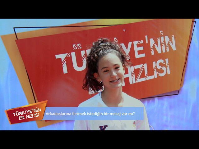 Geleceğin Atletleri - Türkiye'nin En Hızlısı 2019