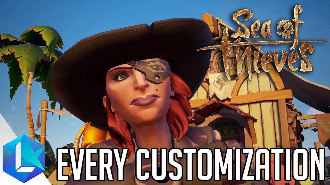 ff95cc7cfcac2 Sea of Thieves - How to Customize Your Pirate   Ship - YouTube