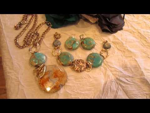 Яшма и бирюза-нереальнкрасивые камни и украшения от Ксении
