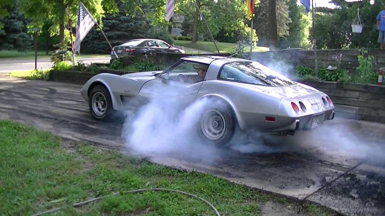 BIG Burnout 79 Corvette 406 Sbc All Three Gears