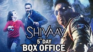 Ajay Devgn's Shivaay 5th Day BOX OFFICE Collection