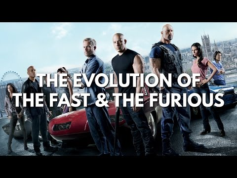 Evolution Of Fast And Furious (2001-2017) // The Fate of the Furious