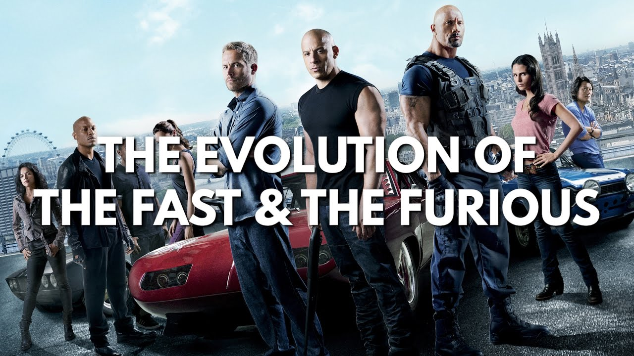 Evolution Of Fast And Furious  2001 2017     The Fate of the Furious     Evolution Of Fast And Furious  2001 2017     The Fate of the Furious