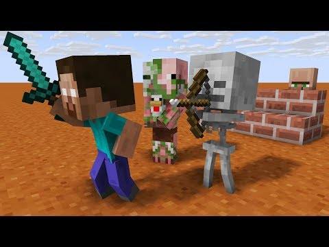 Mob Kids Life Adventures! - Minecraft Animation