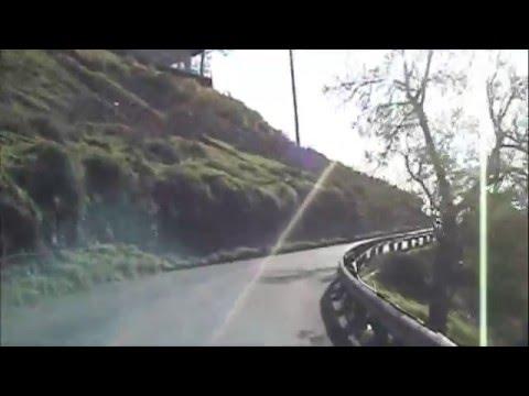 Going up Orange Hill, Orange, CA