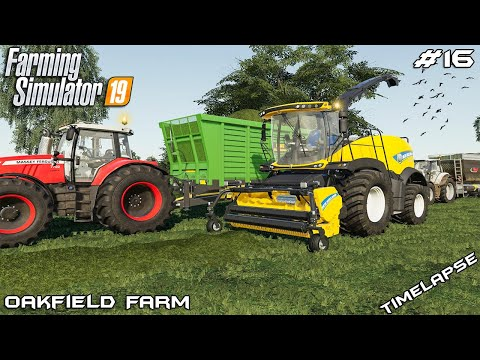 Grass silage with New Holland | Animals on Oakfield Farm