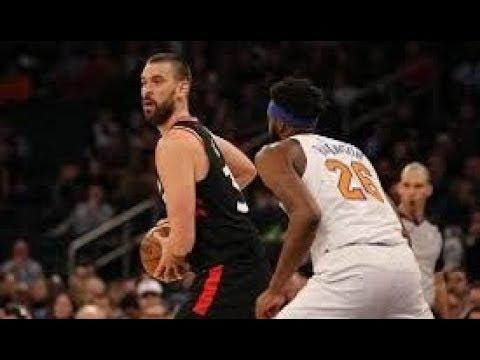 Toronto Raptors vs New York Knicks NBA Full Highlights (10th February 2019)