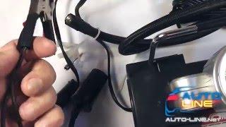 VOIN VL 550 одноцилиндровый автомобильный компрессор с фонарем смотреть