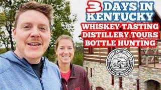 Whiskey Tasting, Distillery Tours, aฑd Bourbon Hunting on the Kentucky Bourbon Trail