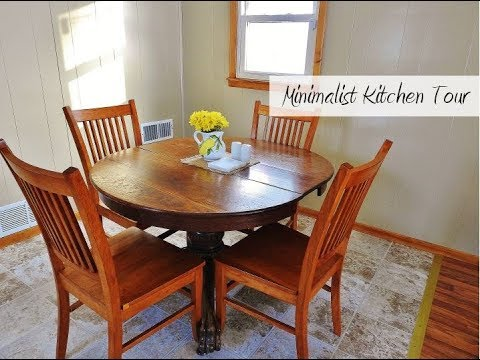 Minimalist House Tour Dining Room And Kitchen Simply Good