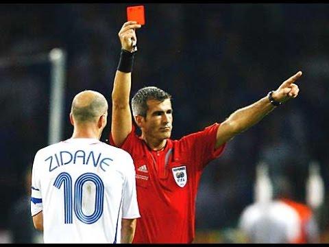 Les Cartons rouges les plus stupides, drôles et insolites au football (hd)