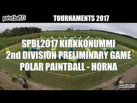Polar Paintball vs Horna - SPBL2017 Kirkkonummi