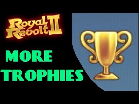 ROYAL REVOLT 2 - CHEATS TO GAIN TROPHIES