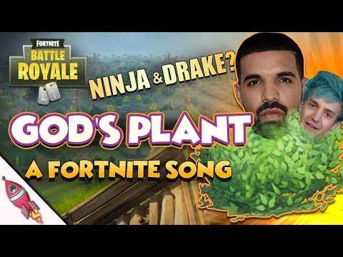 Rockit Gaming - Gods Plant (Drake & Ninja GODS PLAN PARODY) | Fortnite Battle Royale