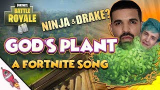 DRAKE and NINJA God's Plan Parody (Fortnite Battle Royale) | God's Plant | Rockit Gaming