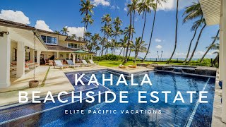 Modern Luxury Beachfront Rental | Kahala, Oahu