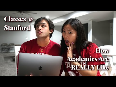 How Academics at Stanford are REALLY Like 😳 Classes I'm Taking at Stanford + Fall Quarter Update!
