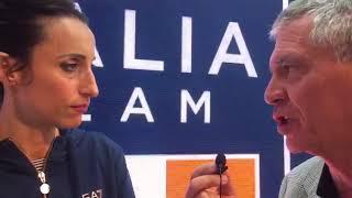 Vincenzo Martucci intervista Elisa Di Francisca