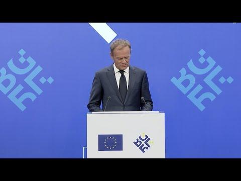 "EU's Tusk blasts US president: ""With friends like Trump, who needs enemies?"""