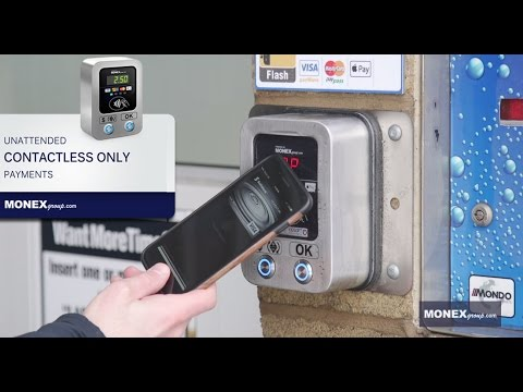 MONEXgroup's Tap & Wash - Tap Only Car Wash Payment Solution Eliminates Coin Requirement