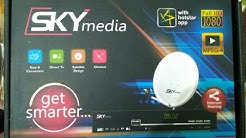 SKY MEDIA FULL INFORMATION FREE TO AIR MPEG4 SET TOP BOX