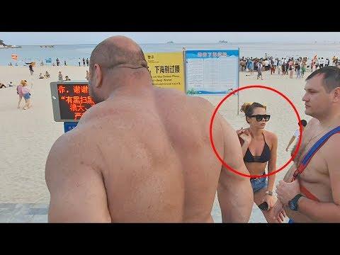 Весь пляж офигел