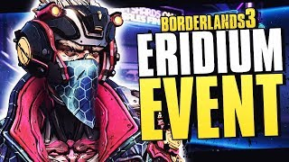 Borderlands 3 NEW EVENT UPDATE - Get Increased Eridium Drops & Discounts for Gear, Cosmetics & More!