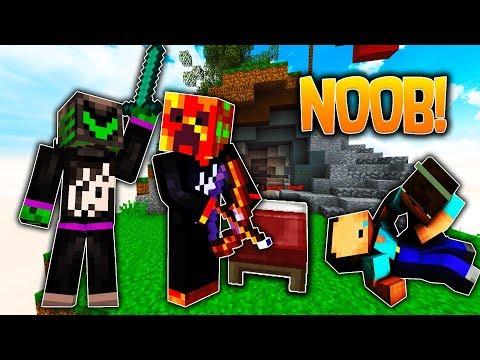 NOOBS VS PROS! Minecraft - BEDWARS with PrestonPlayz & WallStreet!