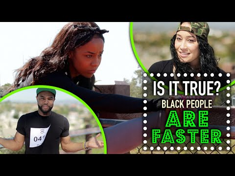 Black People Are Faster? - Is It True