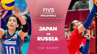 Japan v Russia highlights - FIVB World Grand Prix