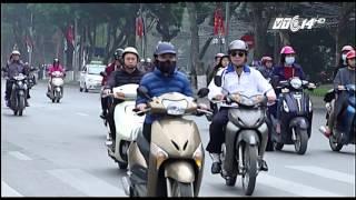 (VTC14)_Bật đèn xe máy ban ngày - Liệu có giảm TNGT?