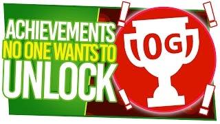8 Xbox Achievements No One Wants To Unlock