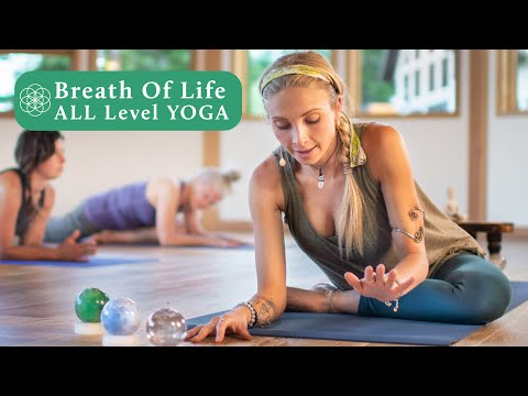60 Minute Yoga Class | All Level Stress & Anxiety Release Live Yoga