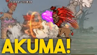 Master of the fist(Veteran)+Akuma Giraffe!   Battle Cats